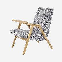 Кресло RONNIE из дуба в скандинавском стиле, кресло деревянное, ретро кресло, кресло ручной работы
