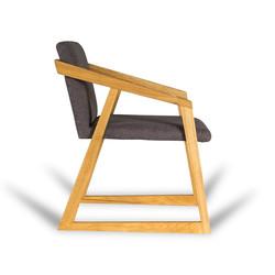 Кресло OREO из дуба в скандинавском стиле