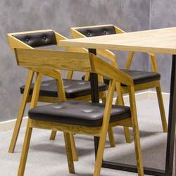 Стул MOHAWK из дерева для офисов и ресто