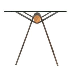 Стол Mr. FOG в индустриальном стиле из дерева и металла