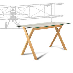 Table AIR with airplane, стіл, стол