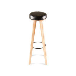 Табурет LATTE stool, скандинавский стиль, из дерева