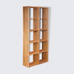 Bookcase BIG TEN. oak, скандинавский стиль
