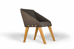 Кресло UNO в скандинавском стиле