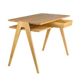 Стол BIPLAN в скандинавском стиле из дерева письменный