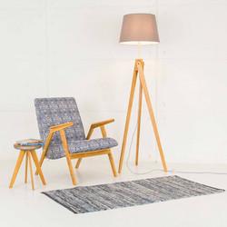Кресло RONNIE и светильник RAY из дуба