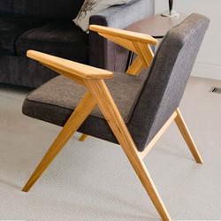 Кресло HOLME в скандинавском стиле небол
