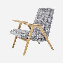 Кресло RONNIE из дуба в скандинавском ст