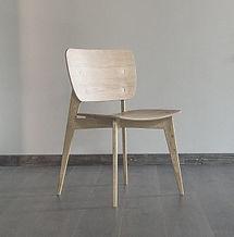 Стул ZEN из дуба в скандинавском стиле, стул из дерева, дубовый стул, стул в гостиную