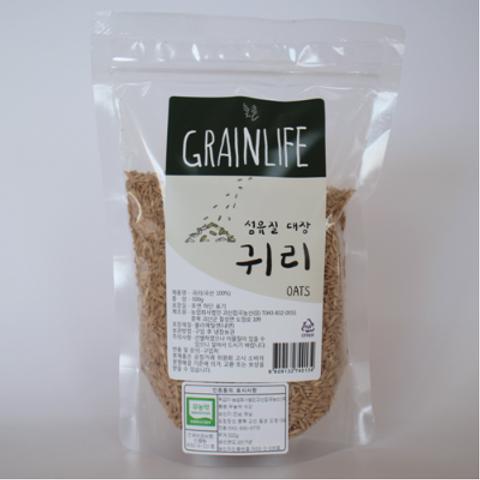 괴산 무농 귀리 (500g)