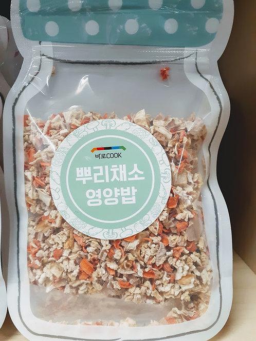 뿌리채소영양밥 (80g)