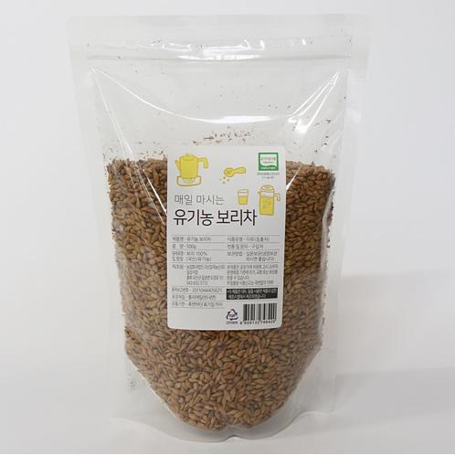 유기농 보리차(500g)