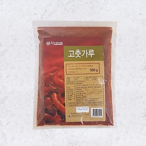 무농약  햇 고춧가루 (500g)