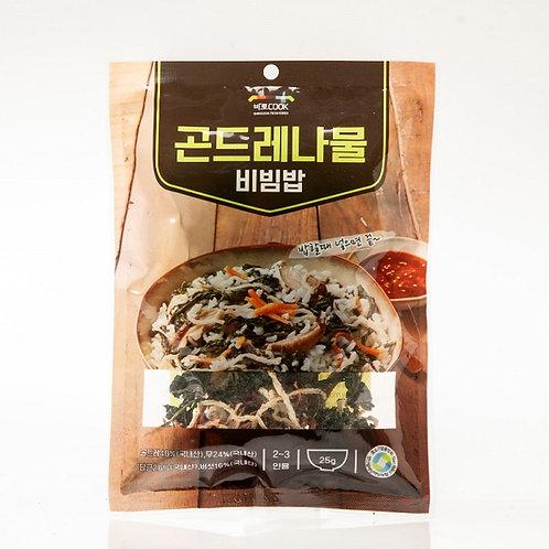 곤드레나물비빔밥 (25g)