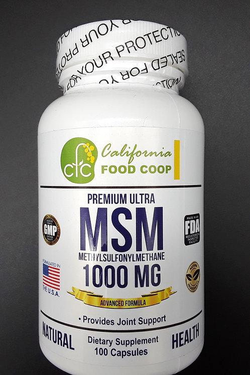 식이유황, MSM (1000MG)