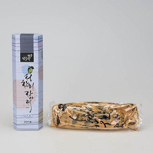 맛들찬 청참외장아찌 (500g)