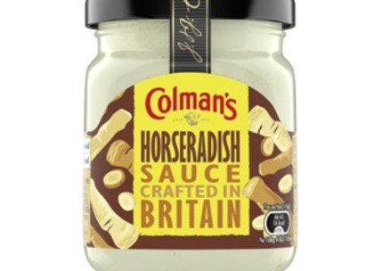 COLMANS HORSERADISH SAUCE (165G)
