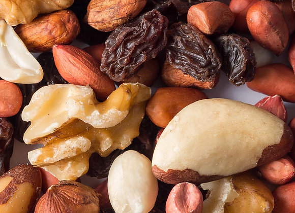 MIXED DRIED FRUIT AND NUT (130G)