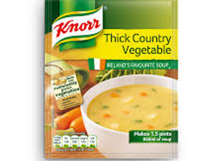 THICK COUNTRY VEGETABLE SOUP
