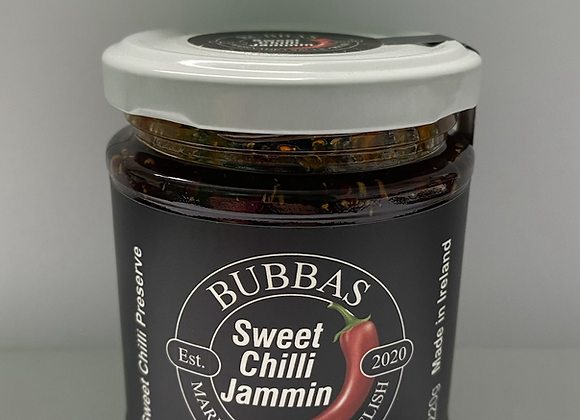 BUBBAS SWEET CHILLI JAM (220G JAR)