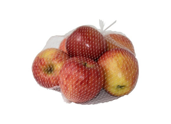 BAG OF RED APPLES  ( 5 )