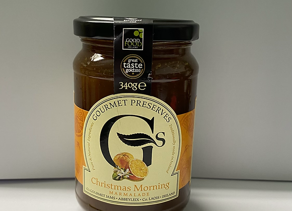 GOURMET PRESERVES CHRISTMAS MORNING MARMALADE (350G)