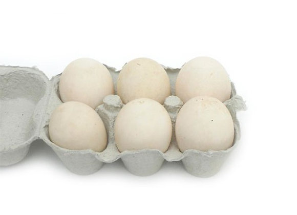 IRISH DUCK EGGS (6)
