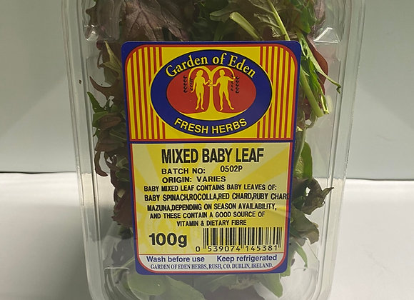 MIXED BABY LEAF  ( 100G )
