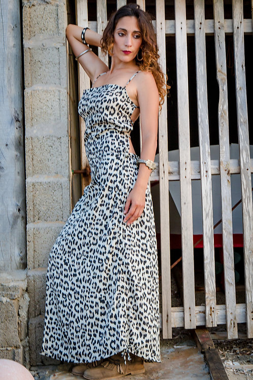 Vestido Nattaka leopardo