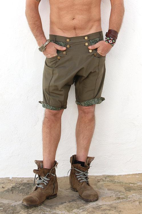 Green Ibiza Shorts