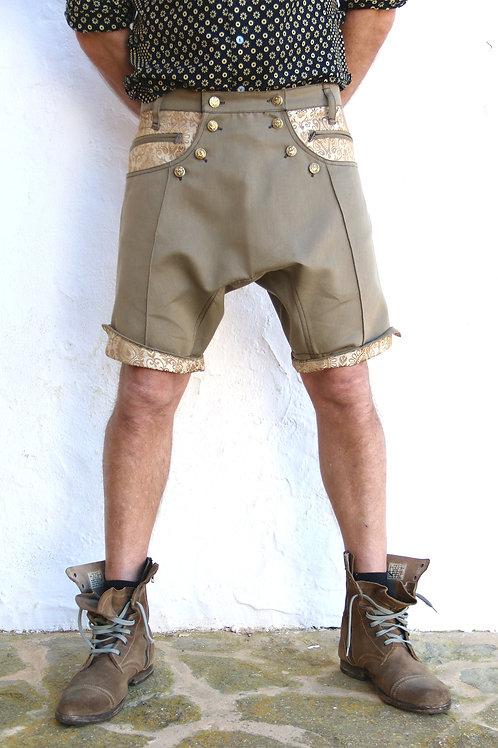 Green&Gold Ibiza Shorts
