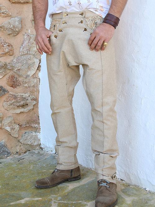 Beige Ibiza Pants