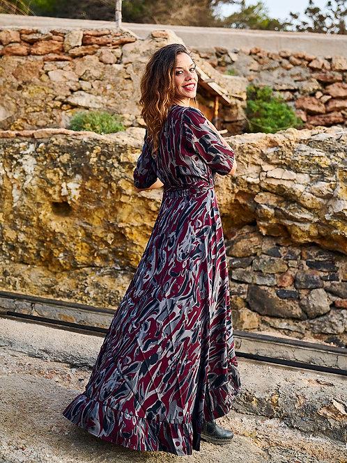 Camouflage Ibiza Long Dress
