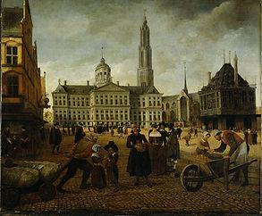 Nieuwe kerk Amsterdam met toren.jpg