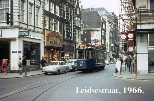 Leidsestraat, 1966.