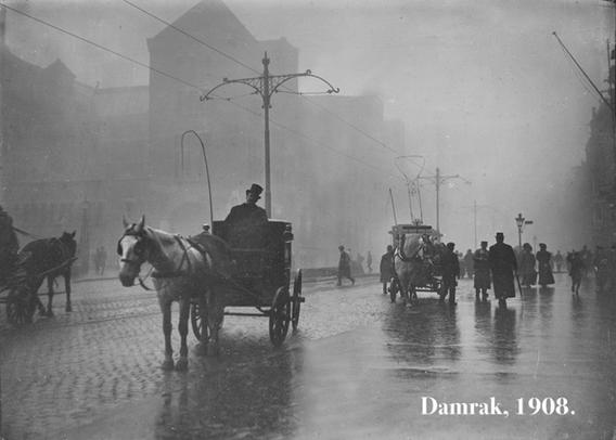 Damrak, 1908.