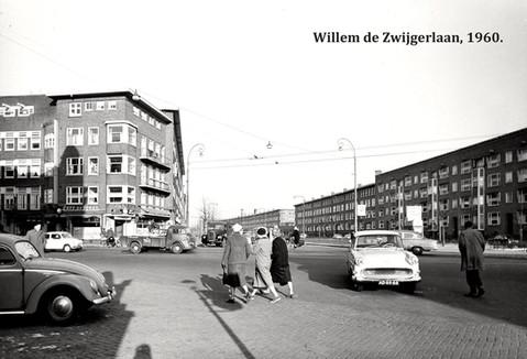 Willem de Zwijgerlaan Amsterdam, 1960.