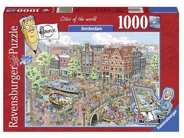 Puzzel Oud Amsterdam