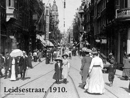Leidsestraat, 1910.