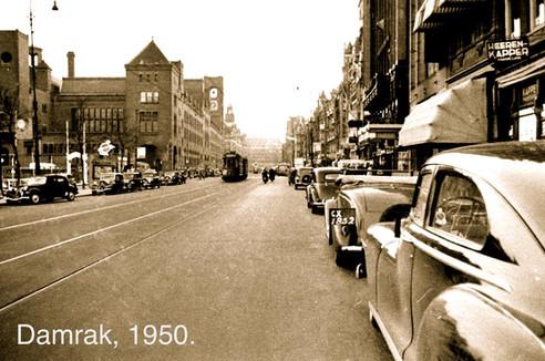 Damrak, 1950.