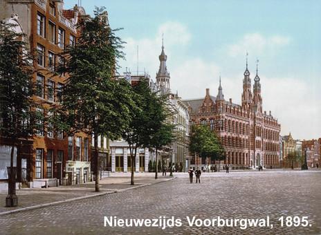 Nieuwezijds Voorburgwal, 1895.