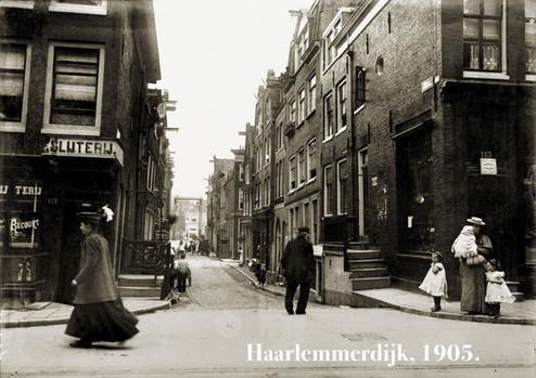 Haarlemmerdijk, 1903.
