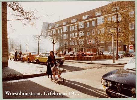 Woestduinstraat Amsterdam, 1977.