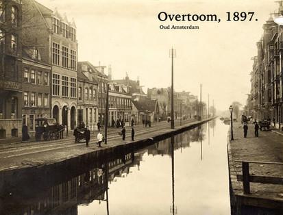 Overtoom Amsterdam, 1897.