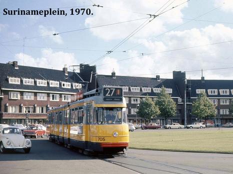 Surinameplein, 1970.