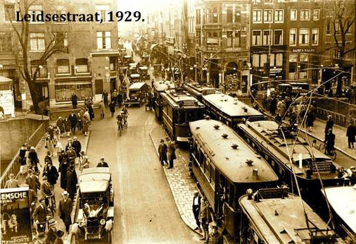 Leidsestraat, 1929.