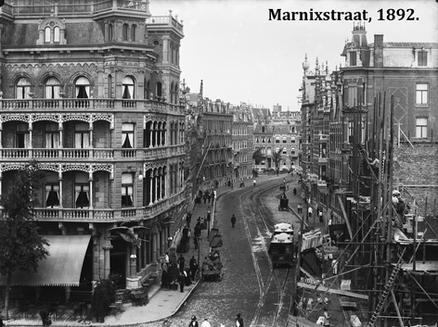 Marnixstraat Amsterdam, 1892.
