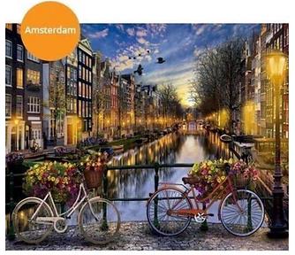 Zelf Amsterdam schilderen