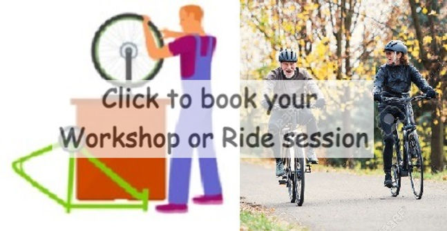 Book Workshop-Ride events