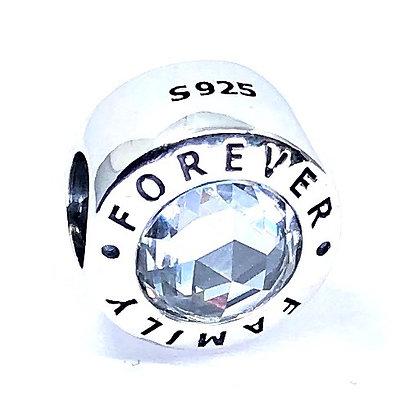 Charm plata 925 Forever